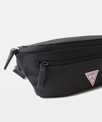 GUESS Side Classic Triangle Logo Bumbag Black
