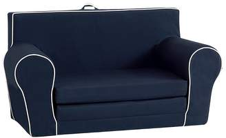 Pottery Barn Kids Navy with White Piping Anywhere Sofa Lounger