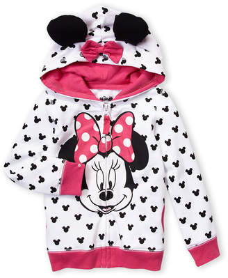 Freeze Kids (Toddler Girls) Minnie Mouse Ears Hoodie