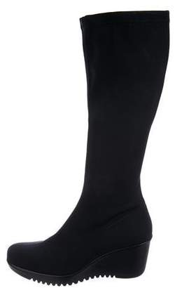 La Canadienne Wedge Knee-High Boots