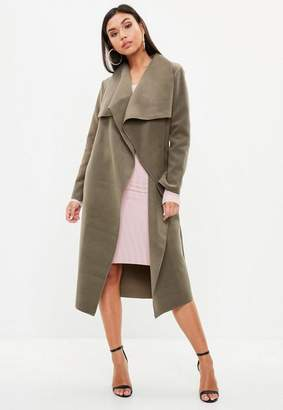 Missguided Oversized Waterfall Duster Coat
