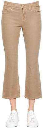 J Brand Selena Mid Rise Boot Cut Corduroy Pants