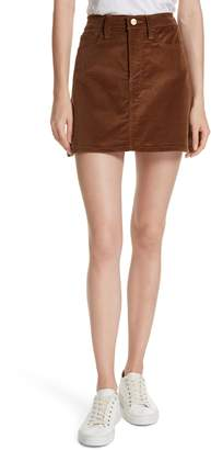 Frame Le Mini Corduroy Skirt
