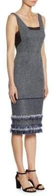 Roland Mouret Riseley Textured Midi Dress