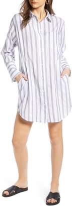 Treasure & Bond Stripe Shirtdress