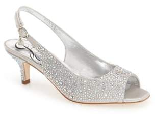 J. Renee 'Impuls' Crystal Embellished Slingback Pump