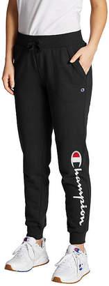 Champion Fleece Logo Womens Jogger Pant