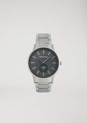 feecbd666c9b at armani.com · Emporio Armani Stainless Steel Watch 11118