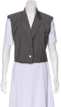 Barbara Bui Cropped Wool Vest