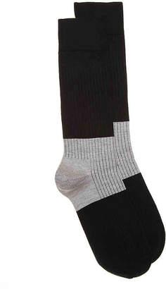 Happy Socks Block Rib Crew Socks - Men's