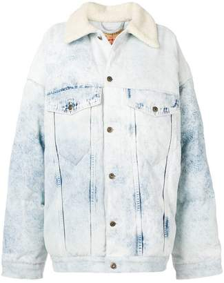 Y/Project Y / Project oversized denim jacket