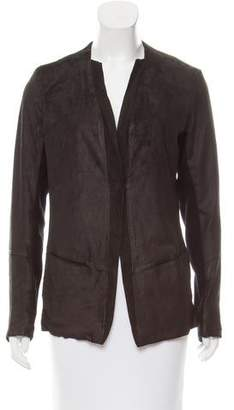 Transit Textured Leather Blazer w/ Tags