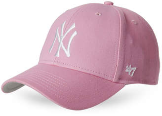 '47 Girls 7-16) Pink NY Yankees Baseball Cap
