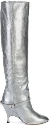 Ballin Alchimia Di buckle detail boots