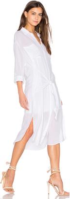 Line & Dot Andria Tied Shirt Dress $75 thestylecure.com
