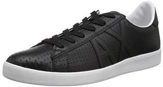 Armani Exchange A|X Men's Low Top Logo Sneaker Black