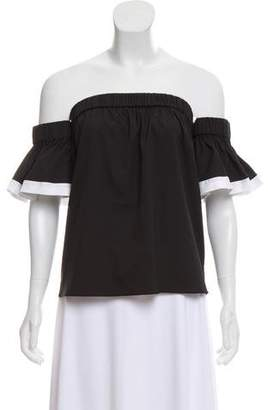 Milly Off-The-Shoulder Lightweight Top w/ Tags