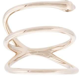Adeesse wraparound snake ring