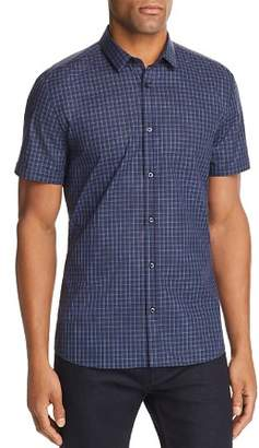 HUGO Empson Plaid Extra Slim Fit Button-Down Shirt