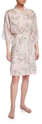 Lise Charmel Dressing Effeuillage Lace-Trim Robe