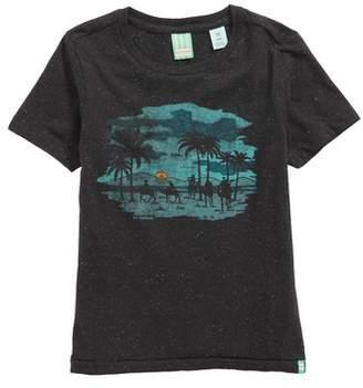 Scotch Shrunk Artwork Graphic T-Shirt