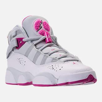 Nike Girls' Grade School Jordan 6 Rings (3.5y-9.5y) Basketball Shoes