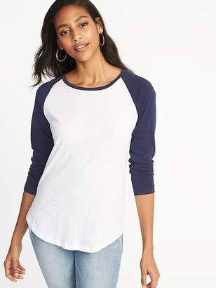 Old Navy Relaxed Raglan-Sleeve Tee for Women