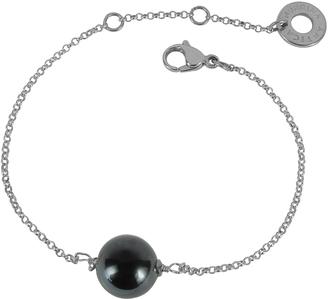Antica Murrina Perleadi Black Murano Glass Bead Chain Bracelet $45 thestylecure.com