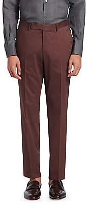 Ermenegildo Zegna Men's Cotton Sateen Pants
