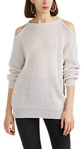 IRO Women's Lineisy Cutout Rib-Knit Sweater
