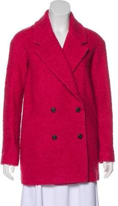 Jennifer Meyer Double-Breasted Bouclé Coat