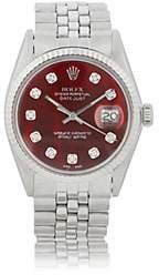 Rolex Vintage Watch Women's 1973 Oyster Perpetual Datejust Watch