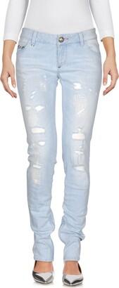Philipp Plein Denim pants - Item 42640587