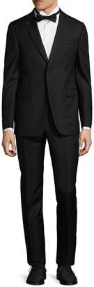 Ermenegildo Zegna Wool Solid Notch Lapel Tuxedo