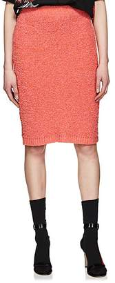 Prada Women's Cotton-Alpaca Bouclé Pencil Skirt