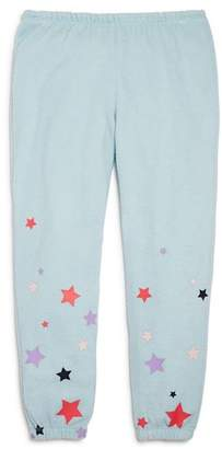 Chaser Girls' Starry Knit Jogger Pants - Little Kid, Big Kid