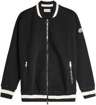 Moncler Knit Bomber Jacket