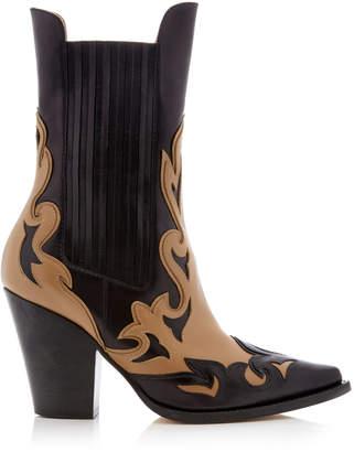 Alberta Ferretti Laser-Cut Boot
