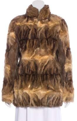 Dennis Basso Sable Fur Coat