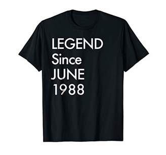 Happy 1988 It's My 31th Years Old Birthday Gift Ideas Tshirt