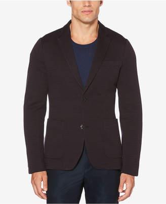 Perry Ellis Men's Slim-Fit Striped Knit Blazer