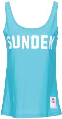 Sundek Tank tops - Item 12267965PS