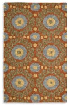 Nourison Rugs Siam Rug Collection- Rust