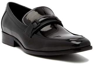 Kenneth Cole Reaction Apron Toe Leather Bit Loafer