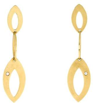 Roberto Coin 18K Chic and Shine Diamond Drop Earrings
