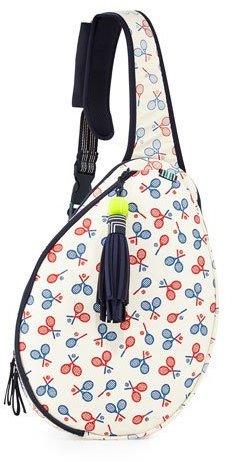 Tory BurchTory Burch Racquet-Print Tennis Racket Sling Bag, Multi