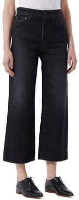 Adriano Goldschmied Etta - High Waist Wide Leg Crop Jeans