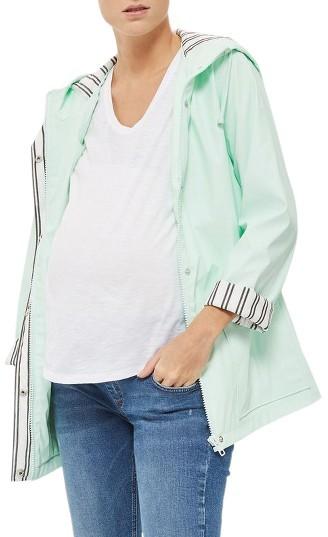TopshopWomen's Topshop Maternity Rain Jacket