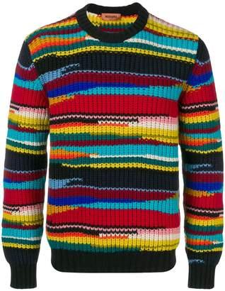 Missoni intarsia knit sweater