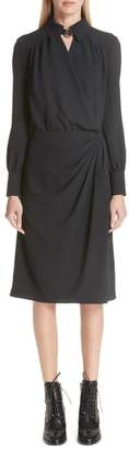 Altuzarra Kat Drape Front Dress